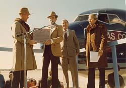 Tom Landry and Howard Putnam